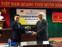 Lễ ký kết thỏa thuận Hợp Tác về việc: Thành lập viện học tiếng hàn tại Trường Cao Đẳng Công Nghệ Bắc Hà.